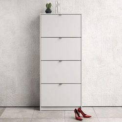 Szafka na buty roma 4d duża biały marki Tvilum