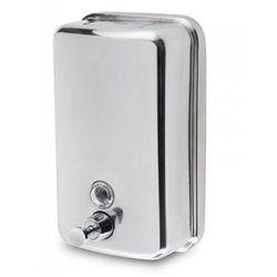 Dozownik do mydła w płynie ze stali nierdzewnej 500 ml dozowniki do mydła w płynie ze stali szlachetnej, inoxu, dozowniki do mydła metalowe marki Linea