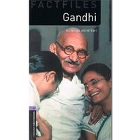 New Oxford Bookworms Library 4 Gandhi (9780194237802)