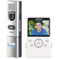 Somikon Wideodomofon bezprzewodowy z funkcją otwierania drzwi fsa-300 (4022107320993)