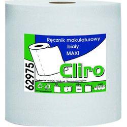Ręcznik papierowy w roli maxi dwie warstwy 138 m biały makulatura marki Clean