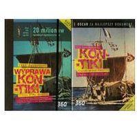 Wyprawa Kon-Tiki Tratwą przez Pacyfik + książka - Mayfly