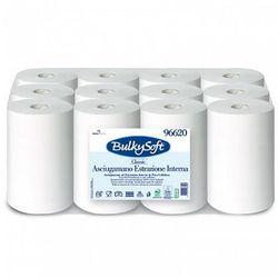 Bulkysoft Ręcznik papierowy w roli classic 2 warstwy 60 m biały celuloza