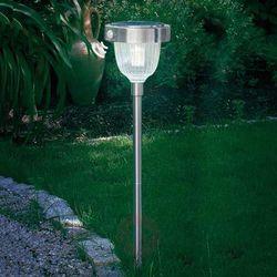 Esotec Lampa ogrodowa solarna 102096, ip44 stali szlachetnej. (4260057860569)