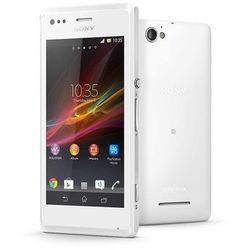 Sony Xperia M c1905 4GB Biały - Biały \ 2 lata na terenie całego kraju + polskie menu + bez sim locka - spr