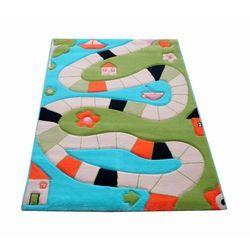 Ivi Dywan soft play plansza do gry 134 x 180 cm turkusowy