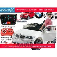 BMW X6 Koła EVA! Pilot 2.4Ghz ,Wolny start, MODEL 2017 POJAZD NA AKUMULATOR