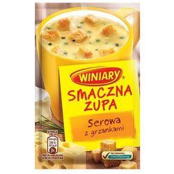 WINIARY 16g Smaczna Zupa Serowa z grzankami z kategorii Dania gotowe