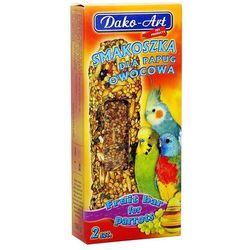 Dako-art  smakoszka - kolby owocowe dla papug falistych 2szt.