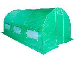 Tunel Foliowy Ogrodowy Ogrodniczy Szklarnia 2x3.5 m Zielony UV5