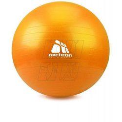 Piłka fitness Meteor 75 cm pomarańczowa 31176 (piłka, skakanka)