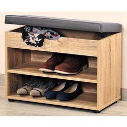 Kesper Drewniana szafka na buty z siedziskiem, regał do przedpokoju z praktyczną ławeczką do siedzenia (4000270159244)