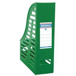 Pojemnik ażurowy na dokumenty DONAU, PP, A4, składany, zielony