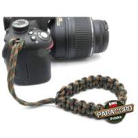 Pasek z oryginalnego paracordu typ iii 550 o siedmiu rdzeniach do aparatu, kamery, lornetki, dalomierza, typ s