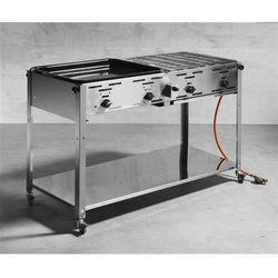 Grill gazowy - Master Quattro (grill ogrodowy)