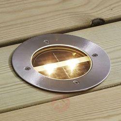 Okrągła solarna oprawa wpuszczana LED Decklight