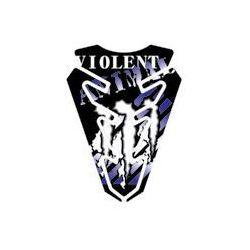 Tankpad PUIG Violent, kolor niebieski z kategorii Tankpady