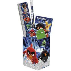 Derform, Angry Birds, zestaw przyborów szkolnych w puszce ()