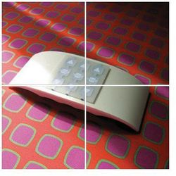 Obudowa NICE z uchwytem na magnes do przymocowania na ścianie (WAX)
