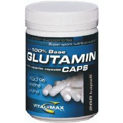 VitalMax L-glutamin Mega Caps - 300 kaps z kategorii Odżywki zwiększające wytrzymałość