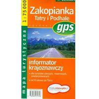 Zakopianka Tatry Podhale mapa turystyczna (opr. miękka)