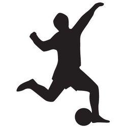 Szabloneria Szablon malarski, wielorazowy, wzór sport 8 - piłkarz z piłką