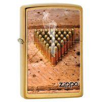 Zapalniczka ZIPPO Bullets, Brushed Brass (Z28674) z kategorii Zapalniczki