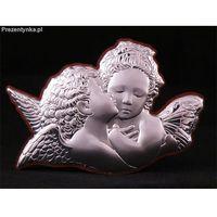 Ikona Dwa aniołki na Chrzest z kategorii Prezenty z okazji chrztu