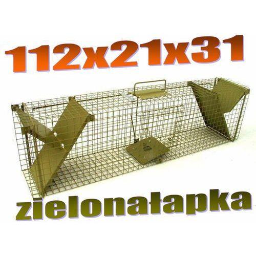 Pułapka dwuwejściowa na kuny, tchórze, szczury, norki, młode wydry ZL K2PR oferta ze sklepu Mediasklep24