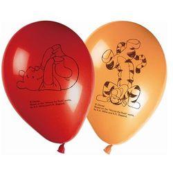 Balony urodzinowe Kubuś Puchatek Party - 28 cm - 8 szt