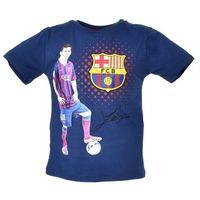 Licencja - inne T-shirt z wizerunkiem piłkarza klubu fc barcelona - kolorowy ||granatowy