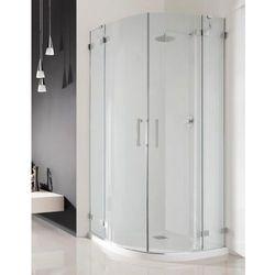 Radaway Radaway euphoria pdd kabina prysznicowa 80x80 szkło przejrzyste + brodzik delos a + syfon 383002-01l/383002-01r/sda0808-01 __autoryzowany_dystrybutor__ 80 x 80 (383002-01L)