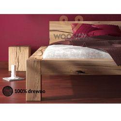 Łóżko dębowe syringa 04 180x200 marki Woodica