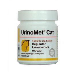 DOLFOS UrinoMet Cat regulator kwasowości moczu u kotów 60tabletek - produkt z kategorii- Witaminy dla kotów