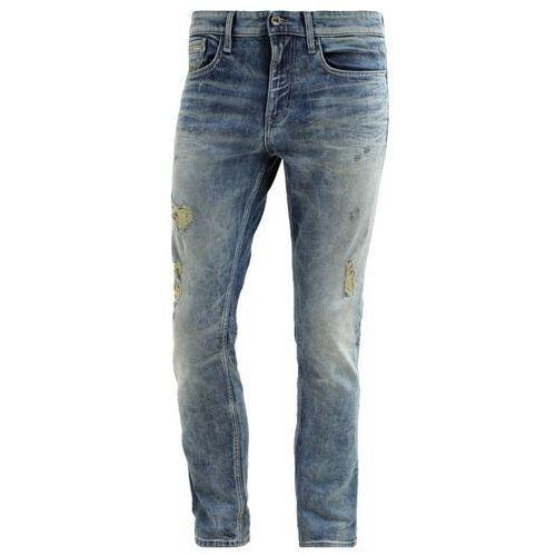 Calvin Klein Jeans SKINNY Jeansy Slim fit destroyed denim
