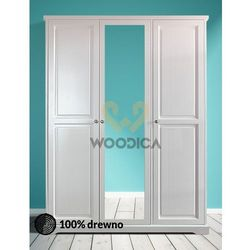 Woodica Szafa parma 03 z lustrem [3d]