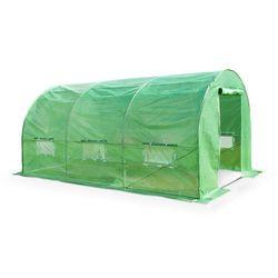 Zielony tunel foliowy 2x4m metalowy stelaż - transport gratis! marki Garden point