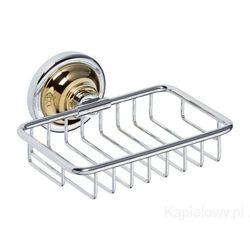 RETRO Mydelniczka koszyczek chrom-złoto 144208168 - sprawdź w wybranym sklepie