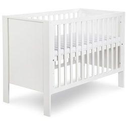 Klupś łóżeczko leon białe 120/60 cm odbierz swój rabat tylko dzisiaj!