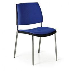 B2b partner Krzesło konferencyjne cube, niebieskie