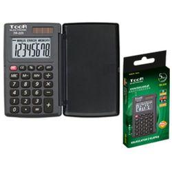 Kalkulator kieszonkowy TOOR TR-225. z klapką