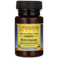 Metylokobalamina B-12 2500mcg 60tab Swanson