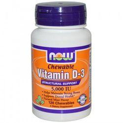 Witamina D3 5000IU 120 chewables (tabletki do żucia), produkt z kategorii- Witaminy i minerały