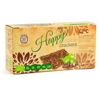 Raw & happy (przekąski raw) Krakersy chleb niepieczony classic bezglutenowy bio 6 sztuk - raw_happy