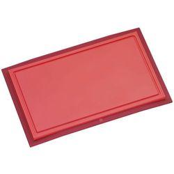 Wmf  - deska do krojenia 32 x 20 cm touch - czerwona