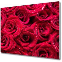 Deska kuchenna Krople na różach