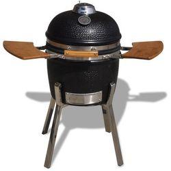 vidaXL Kamado ceramiczny grill z wędzarką 81 cm