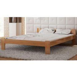 Łóżko drewniane Celinka 140x200 z materacem piankowym