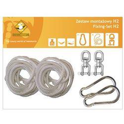 Zestaw montażowy H2 do hamaków, biały koala/zh2 z kategorii Pozostałe poza domem