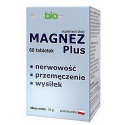 Magnez Plus 60kaps (Witaminy i minerały)
